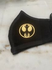 Star Wars Jedi Order And Resistance Gold Face Mask 100% Egyptian Cotton Mask