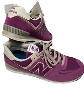 New Balance Classic 574 Mens Shoes Size 12 Purple Running Sneakers