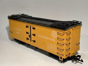 LGB 4064 Kühlwagen D&RGW gelb, passend zu Western Zug - G scale REFRIGERATOR