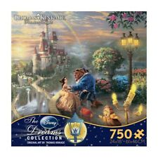 Thomas Kinkade Beauty and the Beast Falling In Love 750 Piece Ceaco Puzzle