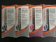 SALLY HANSEN SALON EFFECTS REAL NAIL POLISH STRIPS - PEDICURE - EL 2192