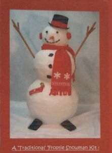 Build-a-Snowman Brand New Complete Kit Frosty the Snowman Reusable