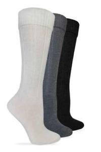 Wise Blend Turncuff Knee High Merino Wool Blend Socks, 3 pk $16.99+FREE SHIPPING