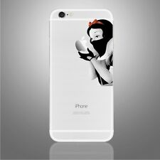 Snow White Assasin Decal Vinyl Sticker fo Iphone 6,6s,7  new black andwhite