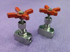 1pc Hoke 2200 Series Screwed Bonnet Needle Valve -- 2215F4Y -- 1/4 NPT -- 316 SS