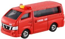 Tomica No.27 Nissan NV350 caravan fire command car blister Miniature Car