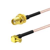 MCX Plug to SMA Female Cable 30cm for DVB-T DVB-T2 TV RTL SDR USB Stick Receiver