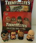 New Teenymates Lot Bret The Hitman Hart WWE 4 Figures Seth Rollins USO Big Show