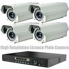 High Resolution Video Licence Plate Reading Security Camera Night Vision CCTV