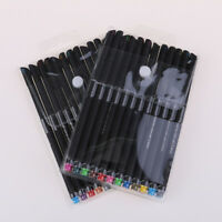 0.44mm 24/12Colors Set Pen Fine Line Point Colored Writing Drawing Markers PenRA