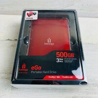 Iomega eGo Mac Edition 500 GB USB 2.0 FireWire 400/800 Portable External Hard