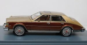 1/43 America Excellence 1981 Cadillac Seville MKII gold and brown NEO43726