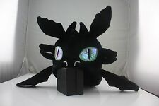 Toothless Hat from How to Train Your Dragon black plush hat handmade hat