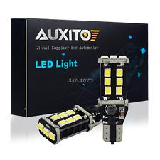 2x Error Free Xenon White T15 921 15-SMD LED Bulb For Car Backup Reverse Light A