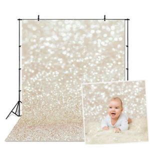 Glitters Light Photo Photography Backdrops Dreamy Studio Background Cloth  O