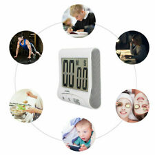 Kitchen Cooking Timer Count-Down Up Large LCD Digital Clock Loud Magnetic New