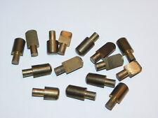 LOT VINTAGE ergot 7mm LAITON de qualité MEUBLE pour FAIRE des ETAGERE mobilier