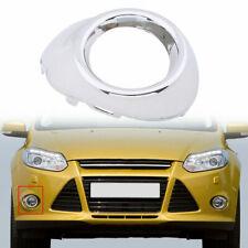 Car Right Chrome Front Fog Light Lamp Cover Bezels For Ford Focus 2012 2013 2014