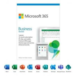 Microsoft 365 Business Standard | 12-Month Subscription, 1 person| Premium Offic