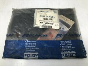 MACK 25163580 BULLDOG BUG-SCREEN, BLACK, 9x9,146QM42AM - NEW