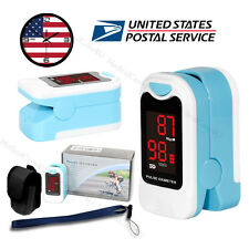 LED Heart Pulse Rate Blood Oxygen Sensor Patient Monitor SPO2 Pulse Oximeter USA