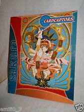 NEW SAKURA CARDCAPTORS  3 RING  POCKET FOLDER BLUE