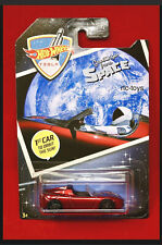 Hot Wheels '08 Tesla Roadster Greetings From Space 1st Car To Orbit The Sun New
