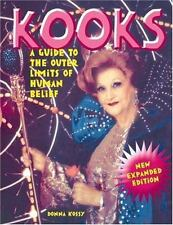 Kooks: A Guide to the Outer Limits of Human Belief, Kossy, Donna,0922915679, Boo