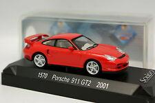 Solido 1/43 - Porsche 911 GT2 2001 Rouge
