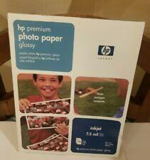 "HP PREMIUM PHOTO PAPER--GLOSSY (15)  8 X 11.5""  SHEETS  C6039A"