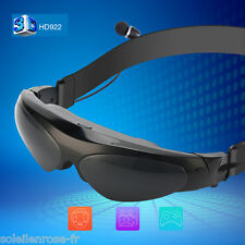 98 Inch 3D Video Glasses Virtual Widescreen Personal Theater for HDMI/MHL/AV IN