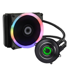 Game Max 120mm Water Cooling System KIT 7 Colour PWM Fan Radiator