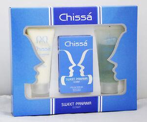 Set Gift Woman Chissà Sweet Panama Edp 30ml+ Shower Shampoo + Body Cream