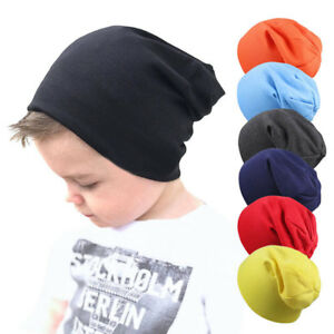 Toddler Newborn Kids Baby Boy Girl Infants Cotton Soft Warm Hat Cute Beanie Cap