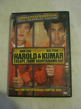 Harold & Kumar Escape From Guantanamo Bay (2008 DVD) (GS13-5)