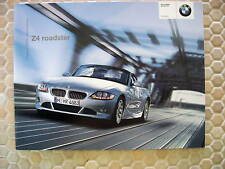 BMW Z4 ROADSTER OFFICIAL ACCESSORIES BROCHURE 2004 USA EDITION