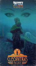 discovery channel  CLEOPATRAS PALACE in search of a legend  VHS VIDEOTAPE NEW