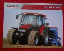 N.O.S. Case IH JXU Maxxima tractor Sales Brochure JX1070U JX1080U JX1090U JX1100