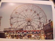 1960 Deno's Wonder Wheal Coney Island Brooklyn NYC Photo