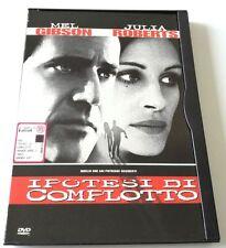 IPOTESI DI COMPLOTTO ED.SNAPPER FILM DVD ITALIANO SPED GRATIS SU + ACQUISTI!