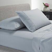 Bianca Heston 300TC 100% Cotton Percale Sheet Set Steel Blue