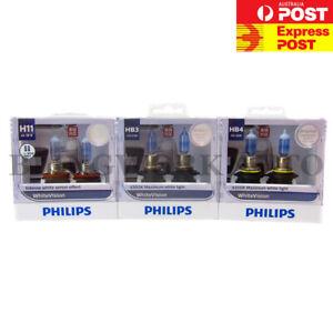 Philips H11 HB3 HB4 White Vision WARM White Light for DODGE RAM 1500 EXPRESS DS