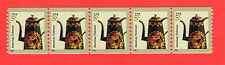 3612 Toleware Coffeepot 2002 MNH WAG Coil Strip    5x5c