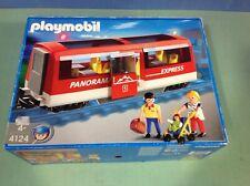 (O4124) playmobil locomotive wagon ref 4124 train RC ref 4010 en boite complet