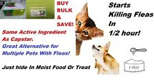 150 DOSES-15gms BULK POWDER ORAL dog cat flea treatment remedy same as Capstar