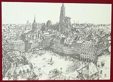 Strasbourg - Horst ROMER - ville de France, de L'Europe - Edition limitée - 1979