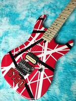 Guitar Store Standard High-Quality Red white black Electric Guitar Fast Shipping