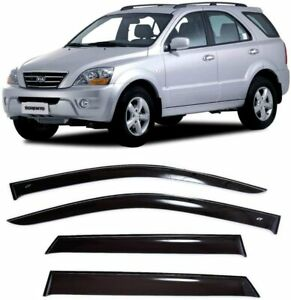 For Kia Sorento (BL) 2002-2009 Window Visors Side Sun Rain Guard Vent Deflectors