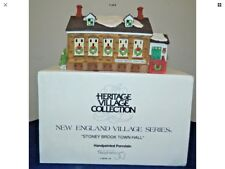 New England Village Series # 5644-8. Nib