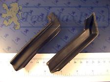 2 cornières plastiques joints d'écoulement d'eau AV Peugeot 504 coupé/cabriolet